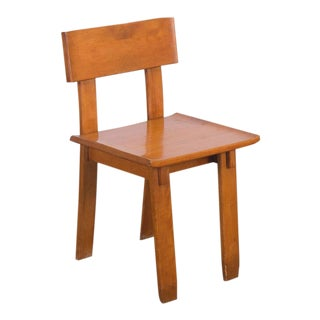 1935 Russel Wright American Modern Side Chair For Sale