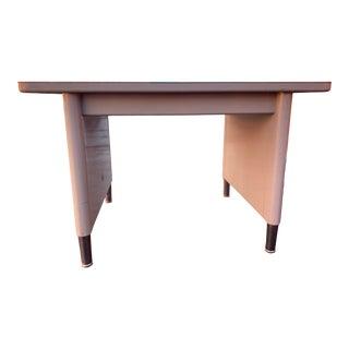 Vintage Mid-Century Modern Steelcase Metal Writing Desk For Sale