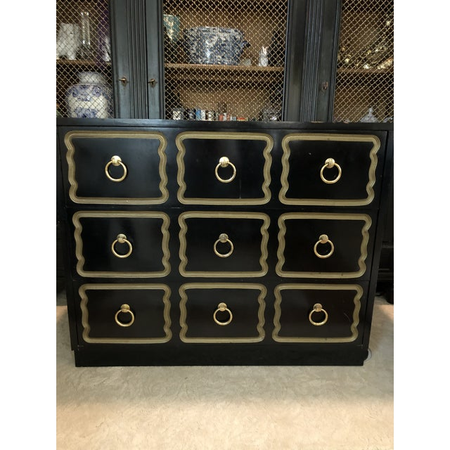 Wood Vintage Dorothy Draper Espana Style Chest For Sale - Image 7 of 10