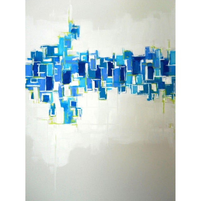 'CRYSTALLIZATiON' Original Abstract Painting - Image 3 of 4