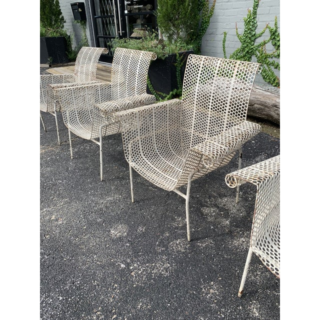 French Garden Chairs - Set of 4 For Sale - Image 4 of 10