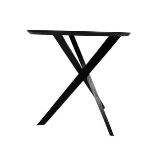 """Modernist """"X"""" Base Table Designed by James Irvine for Articolo For Sale"""