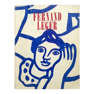 "Fernand Leger Rare Vtg 1962 Lmtd Edtn "" Five Themes & Variations "" Guggenheim Museum Exhibition Catalogue Collector's Art Book For Sale"