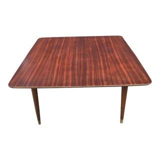 1960s Scandinavian Modern Folke Ohlsson for Dux Walnut Side or Coffee Table For Sale