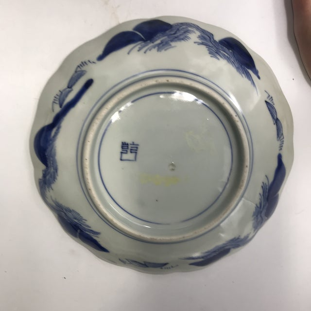 Early 19th Century 19th Century Japanese Arita Ko-Imari Bowl with Qianlong Ken Mark For Sale - Image 5 of 12