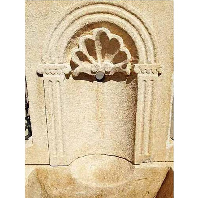 Here we offer a quaint limestone fountain that will provide the acoustics of an old world fountain without taking up too...