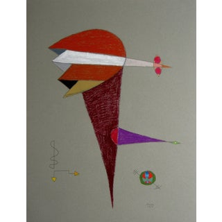 Geometric Surrealist Abstract by Michael di Cosola For Sale