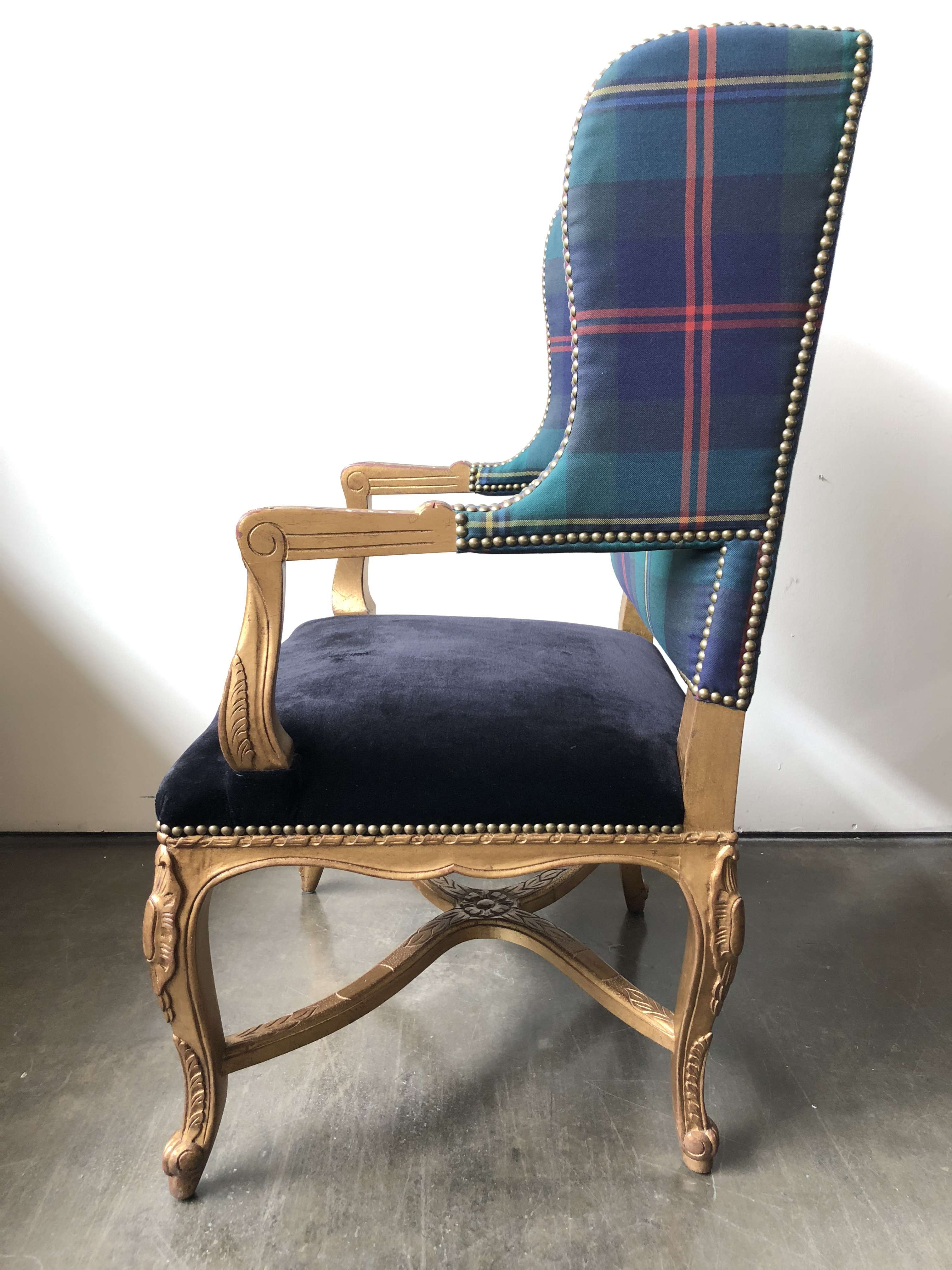 Textile Ralph Lauren Home Spencer Chair For Sale   Image 7 Of 13
