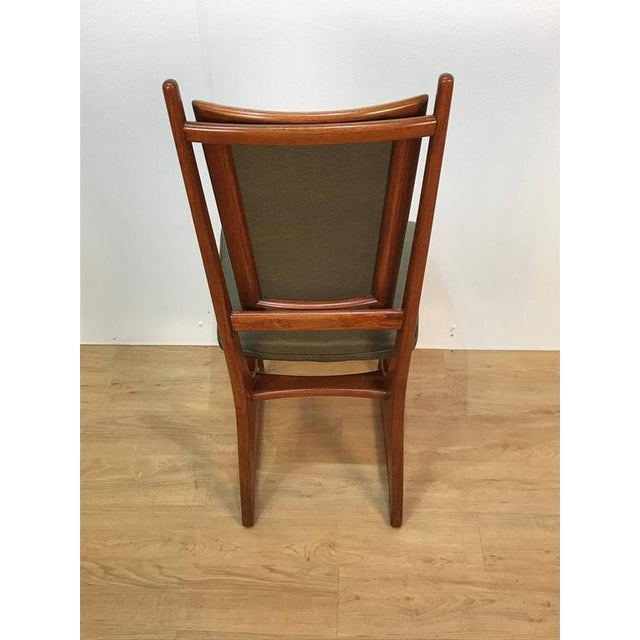 Textile Vladimir Kagan Dining Chairs - Set of 4 For Sale - Image 7 of 10