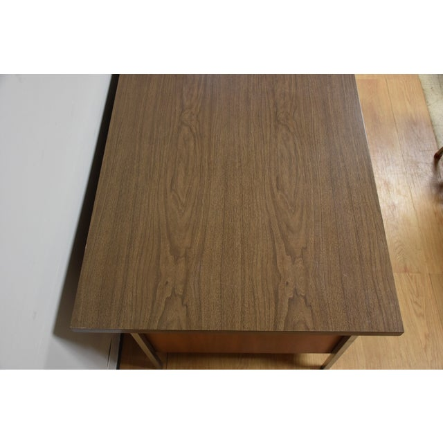 Brown Knoll Office Desk For Sale - Image 8 of 11
