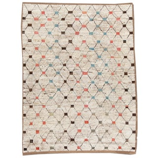 """21st Century Modern Moroccan-Style Rug, 8'8"""" X 11'4"""" For Sale"""