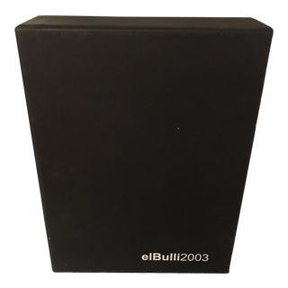 El Bulli 2003-2004 Book Set For Sale