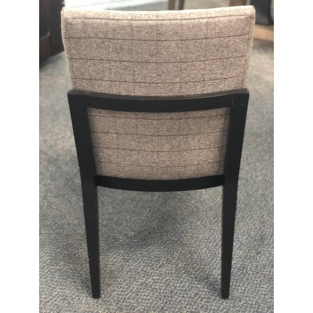 Great masculine plaid side chair. Goes great in any room. Sturdy and stylish