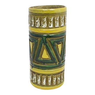 Mid-Century Italian Pottery Vase For Sale