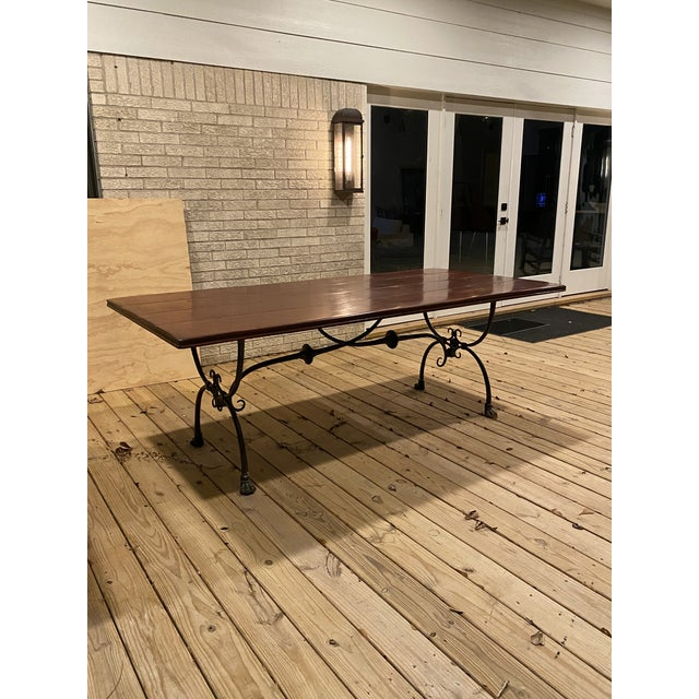 Farmhouse Theodore Alexander Dining Table For Sale - Image 13 of 13