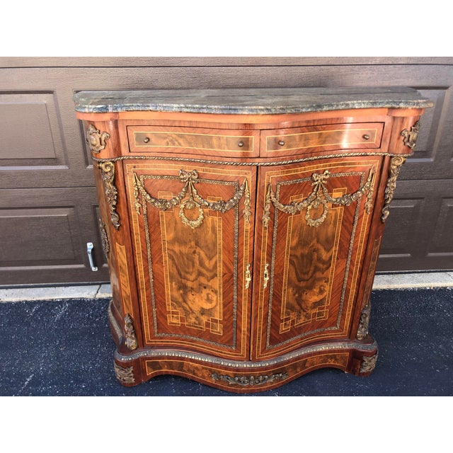 Early French Louis XV Commode Cabinet For Sale - Image 13 of 13