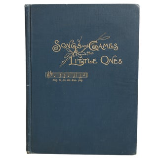 """""""Songs & Games for Little Ones"""" Hardcover Book For Sale"""