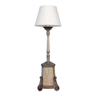 Gustavian 1800s Floor Lamp For Sale