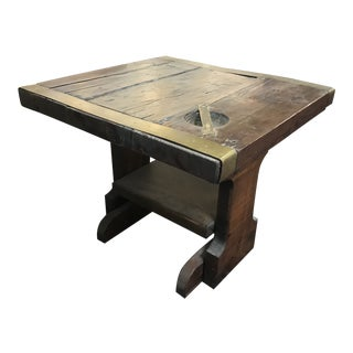 Vintage Nautical Ship Door Coffee Table For Sale