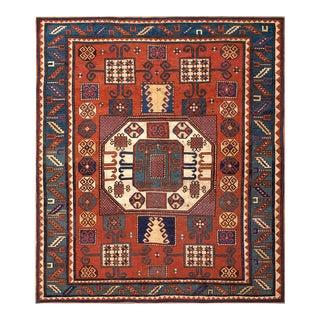 """Antique Caucasian, Kazak Rug 6'2"""" X 7'3"""" For Sale"""
