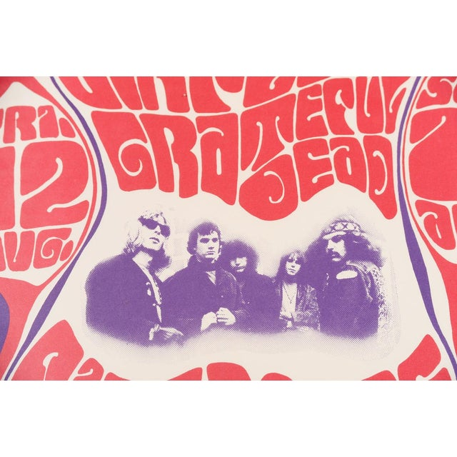 Vintage Grateful Dead in San Francisco Concert Poster - Image 6 of 7