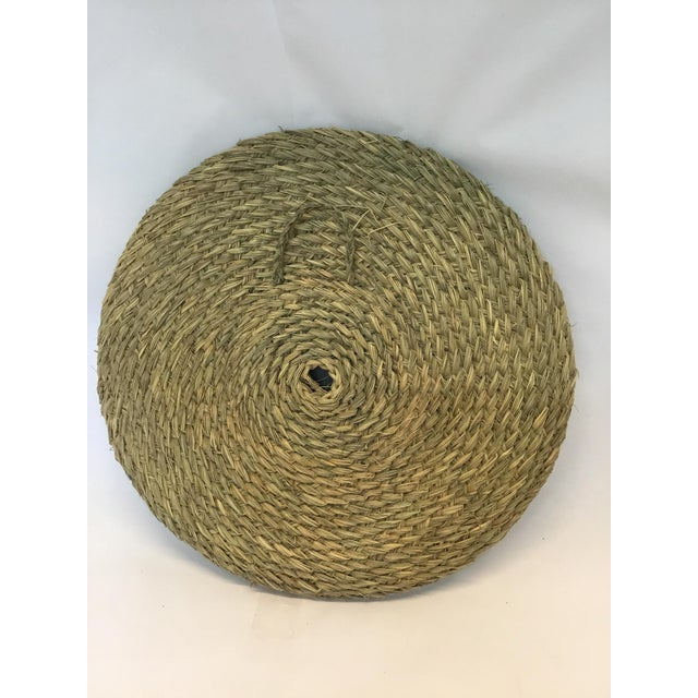 Boho Chic Nautical Round Rope Mirror For Sale - Image 3 of 3