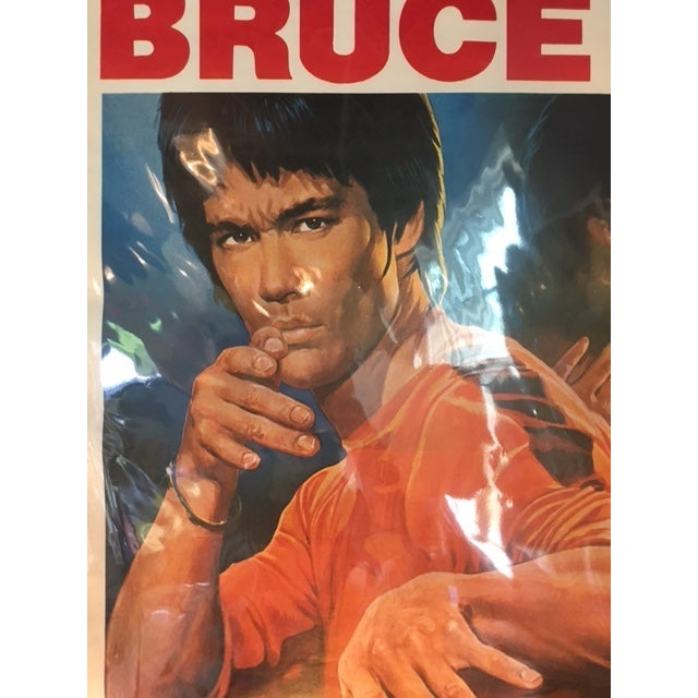 Islamic Original Turkish Bruce Lee Poster 1970s For Sale - Image 3 of 4