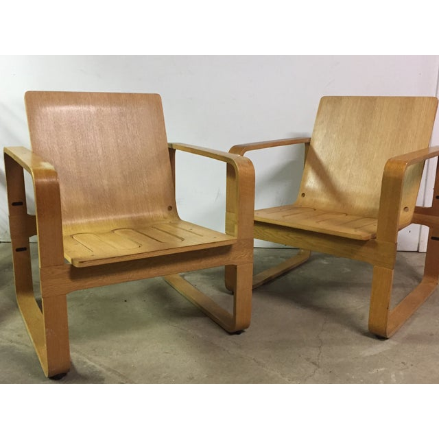 Modern Bentwood Club Chairs - A Pair - Image 3 of 5