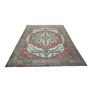 Turkish Anatolian Modern & Decorative Oushak Rug - 9′1″ × 12′1″