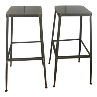 CB2 Bar Stools - A Pair For Sale