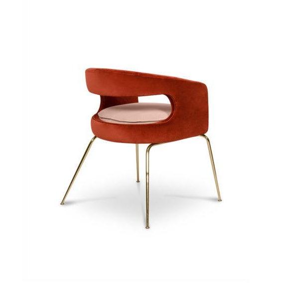 Covet Paris Ellen Dining Chair For Sale - Image 4 of 7