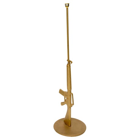 Philippe Starck Machine Gun Lamp, 20th Century For Sale