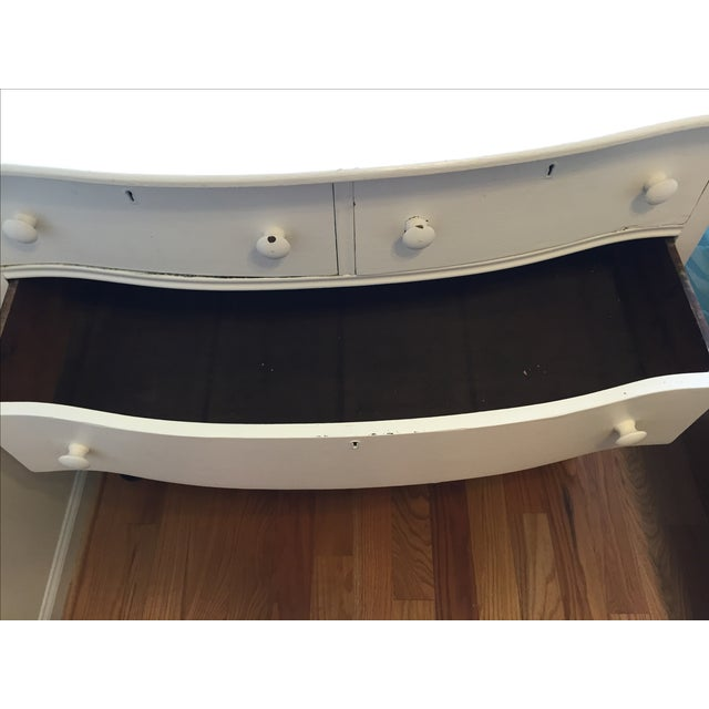 Painted White Wooden Dresser - Image 6 of 7