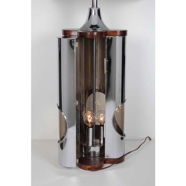 Pair of Sculptural Hollywood Regency Lamps by Laurel For Sale - Image 10 of 11
