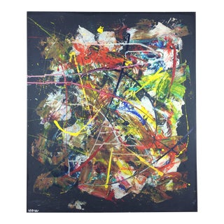 Original 20th Century Abstract Painting For Sale