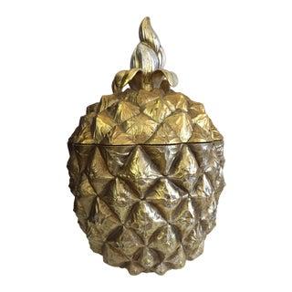 Vintage Pineapple Ice Bucket For Sale