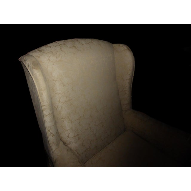 Vintage French Country Wingback Chair - Image 7 of 11