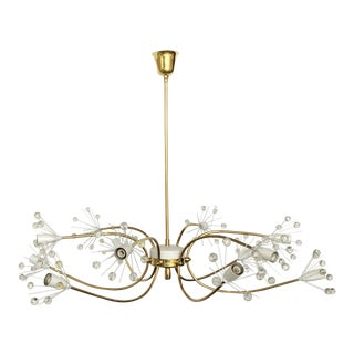 Emyl Stejnar Twelve-Light Chandelier For Sale