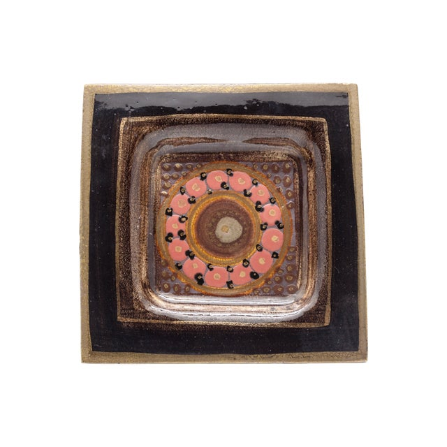 Mid-Century Modern Georges Pelletier Ceramic Dish For Sale - Image 3 of 5