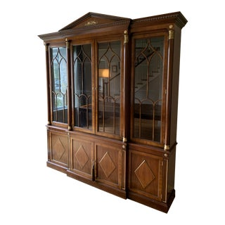 Kindel Neoclassic China Cabinet For Sale