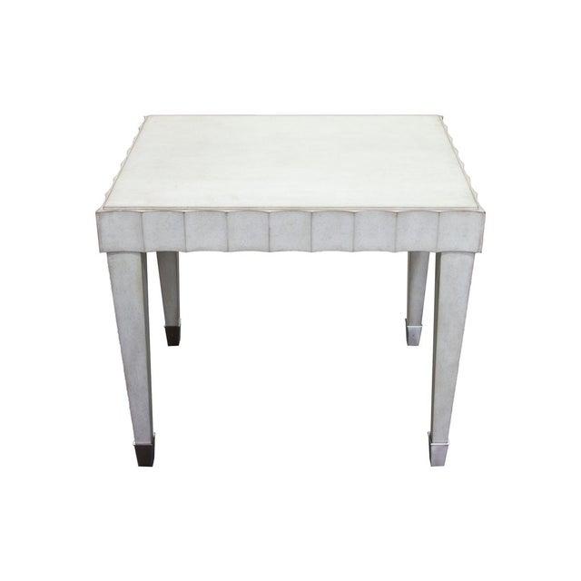 Fremarc Fremarc Designs Beverly Side Table For Sale - Image 4 of 6