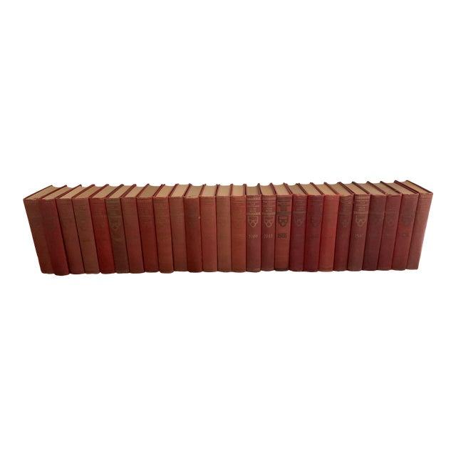 Vintage 1930s Encyclopedia Books - Set of 26 For Sale