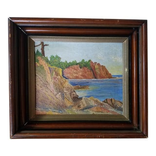 Seascape Oil Painting on Canvas For Sale