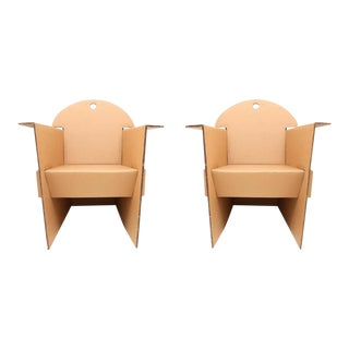 Cardboard Armchairs by Olivier Leblois For Sale