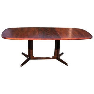 1960s Mid-Century Modern Gidme Mobelfabrik Rosewood Extension Table For Sale