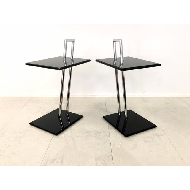 Vintage Eileen Gray Occasional Table - Pair - Image 4 of 7
