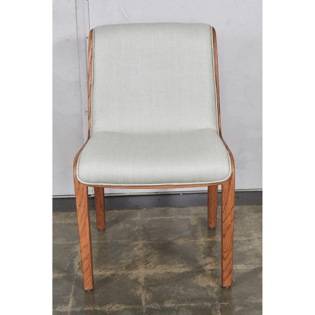 Wood Bill Stephens for Knoll Set of 4 Chairs For Sale - Image 7 of 10