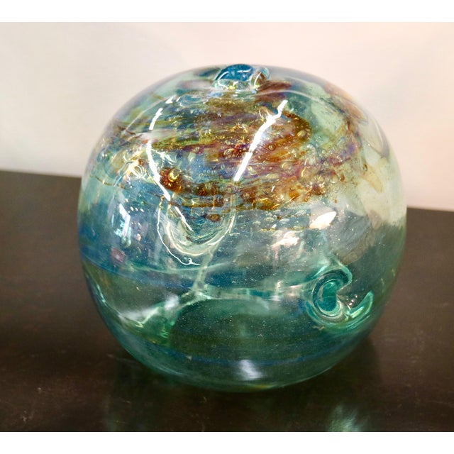 Signed 1970 Art Glass by Peter Bramhall - Image 7 of 7