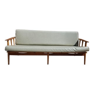 Vintage Mid Century Danish Modern Daybed Sofa For Sale