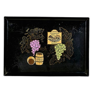 Couroc Wine Serving Tray For Sale